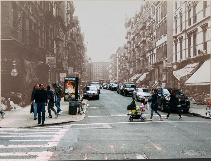 Orchard Street's Pushcart Vendors and Trendy Boutiques [1898, 2014]